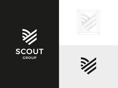Abstract Shield Logo