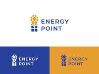 Logo for sale - Sun Energy Point Logo