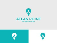 Point Letter A Logo and Icon