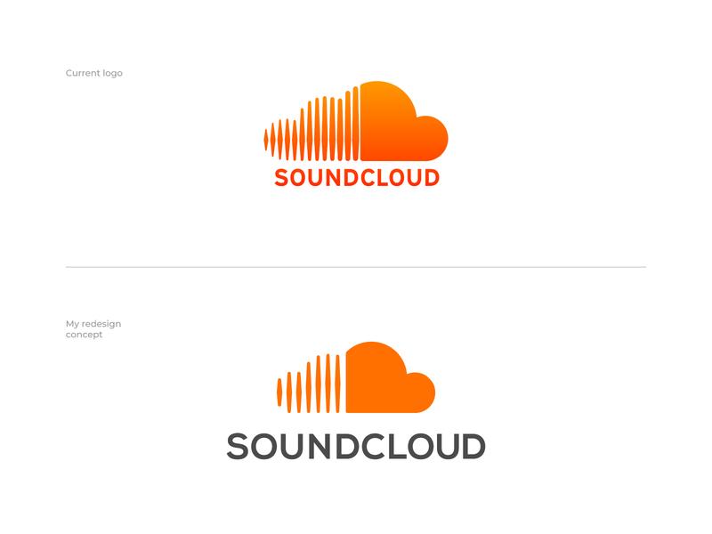 SoundСloud Redesign brand designer logo maker logo designer logo logo design soundcloud redesign souncloud