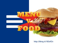 Menu v. Food