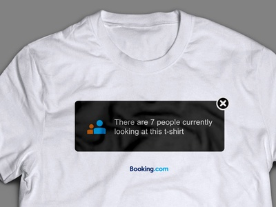 There are 7 people currently looking at this t-shirt shirt bookingcom blue growl branding events swag yeah