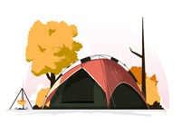 Camping tent #2