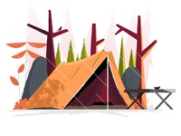 Camping tent #3