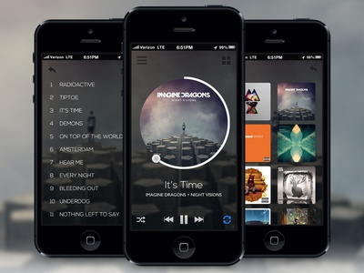 Music Player App | Mobile