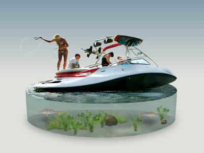 Discover Boating – Inboard Ski/Wake Boat