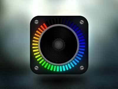 Speaker Ios Icon photoshop ios icon speaker