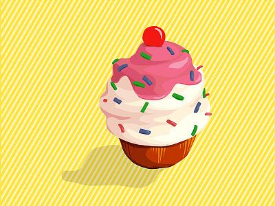 Cake cake illustrator