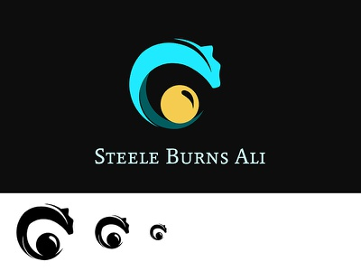 Logo Steele Burns Ali  logo illustrator