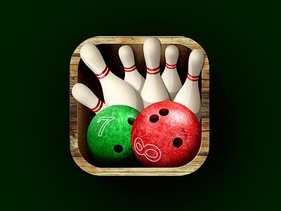 Icon Bowling ball bowling icon photoshop pins