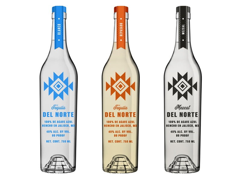 Del Norte Exploration Alt spirits alcohol packaging alcohol branding alcohol mezcal tequila packaging identity branding logo