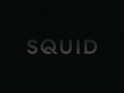 Squid Wordmark wordmark octopus squid branding