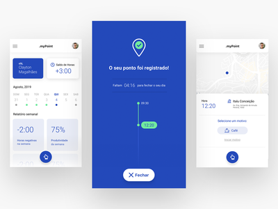 INCREDRIBBBLE #01 - Clock-in app