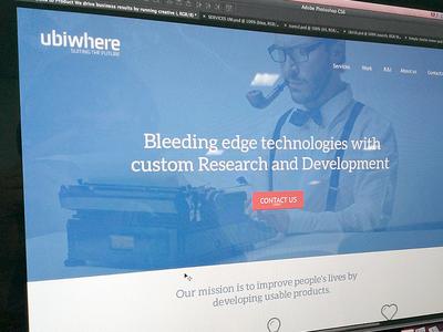 Ubiwhere Homepage