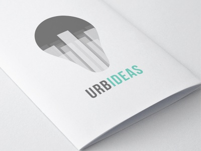Logo - URBIDEAS freebie free logo branding urban ideas buildings city brand brochure flyer