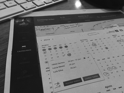 Meeting on a new amazing project dashboard ui ui design wireframe sketch mockup