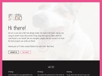 Final version of Jack Russell Studio Website
