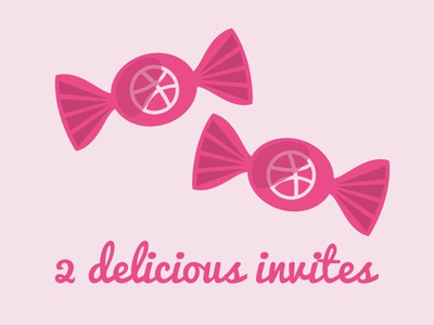 Delicious Dribbble Invites Giveway