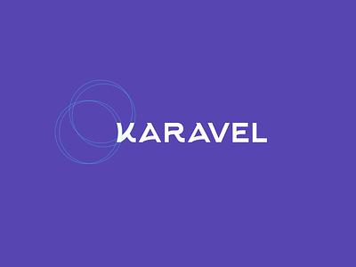 Karavel karavel purple branding logo