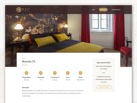 Key Internation House Details real estate gold ui design website home house