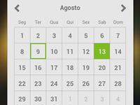 Calendar - ios app