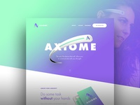 Axiome - Landing page