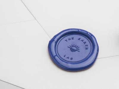 The Earth Lab wax seal envelope wax seal