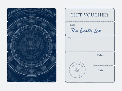 The Earth Lab: Gift Voucher gift card gift voucher