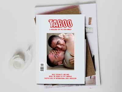 TABOO Magazine editorial magazine