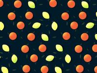 Lemon & Orange Pattern