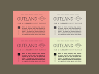 Label Design - Outland