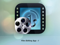 Film Editing Application Icon