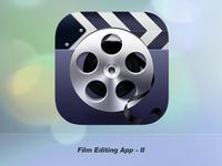 Film Editing Application Icon II