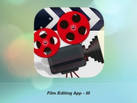 Film Editing Application Icon III