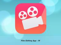 Film Editing Application Icon IV