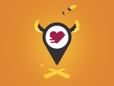 Find Love Pin