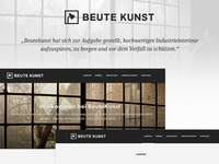 Beute Kunst - Final Branding & Website