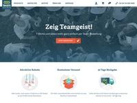 TeamShirts Homepage