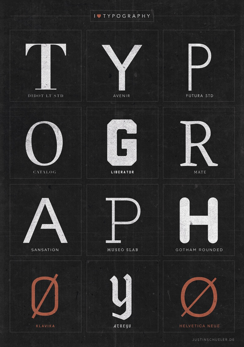 Dribbble - typography-poster.jpg by Justin Schueler