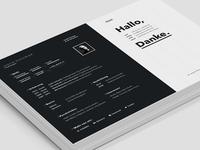 Resume / CV - screen version 2
