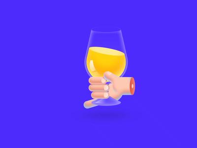 A goblet