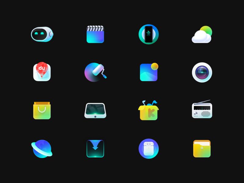 HMI icons flat typography vector branding icon logo colour illustration ui design
