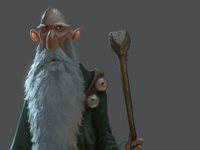 Wizard Painted Version