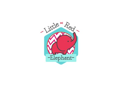 Final Little Red Elephant logo
