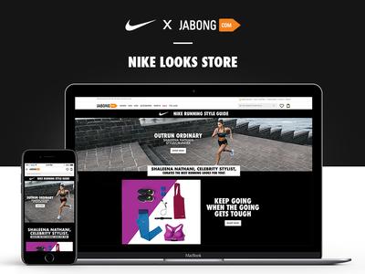 NIKE x JABONG | Look Store