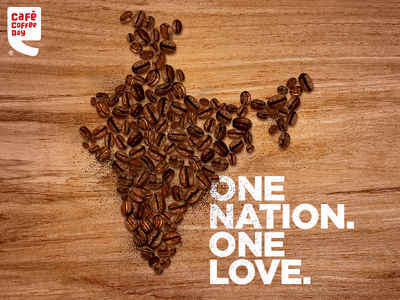 Café Coffee Day | Artwork for Independence Day'17