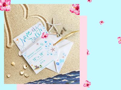 Wedding E-invite | Save the date