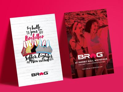 Poster/Newspaper Ad for Brag Innerwear