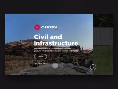 Cirtex Industries | Landing Page Redesign