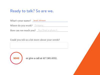 MsV6 Menu Contact Form website menu contact form